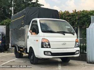 Xe tải Hyundai Porter H150 thùng mui bạt