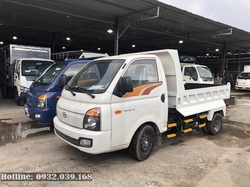 Hyundai New Porter H150 đóng thùng ben