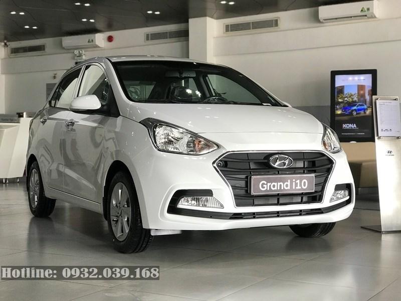 Hyundai Grand i10 sedan 2020 màu trắng