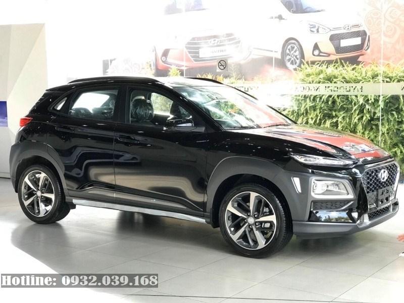 Xe Hyundai Kona 1.6 turbo 2020 màu đen