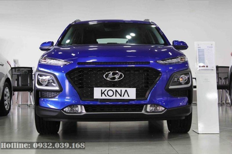 Hyundai Kona 2019 màu xanh dương