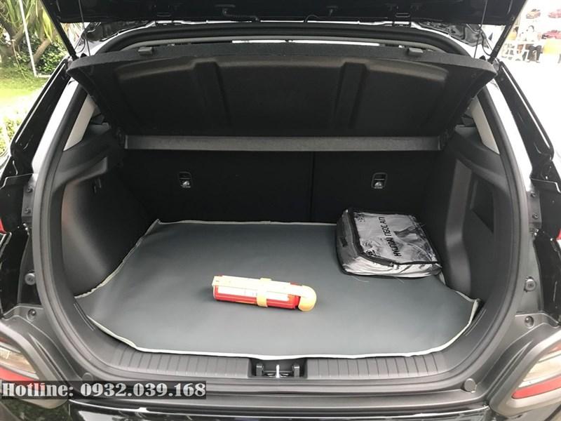 Khoang hành lý xe Kona 2021 bản tiêu chuẩn