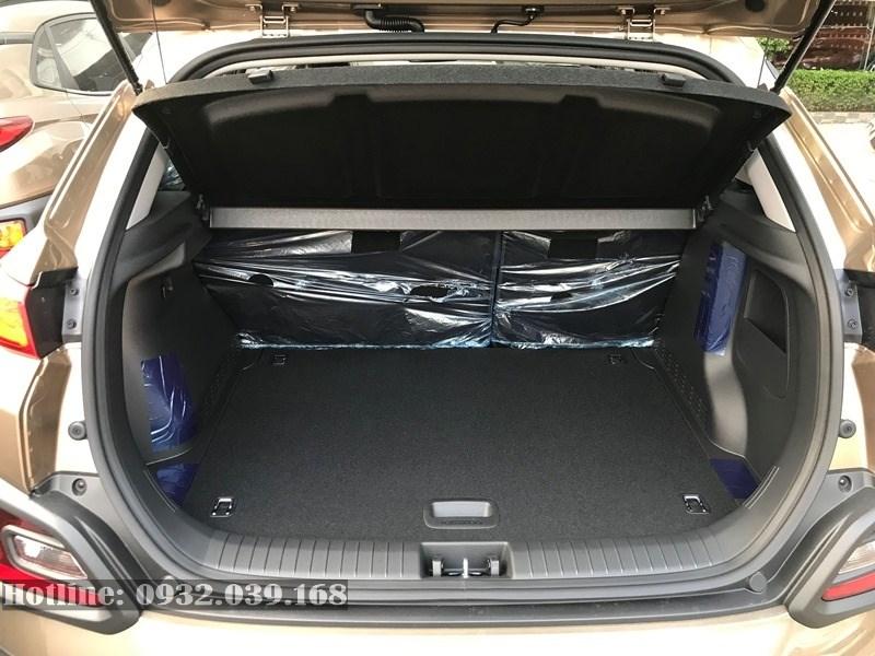 Khoang hành lý Hyundai Kona 2020 bản 1.6 Turbo