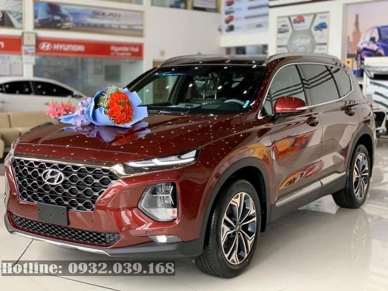 Bán xe Hyundai Santafe 2020 xăng cao cấp