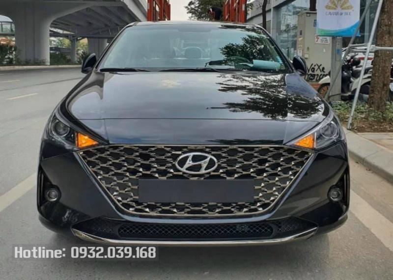 Hyundai Accent 2021 số tự động màu Đen